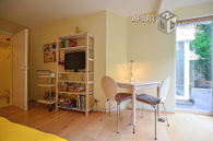 Modern furnished apartment with garden and terrace in Cologne-Altstadt-Nord