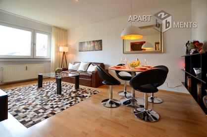 Modern möblierte Wohnung in Köln-Westhoven