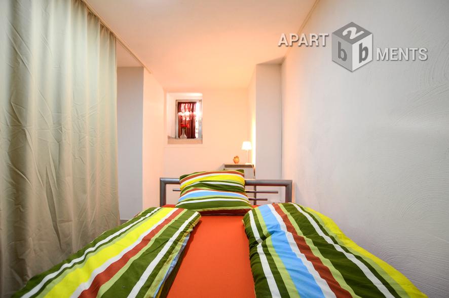 Modern möbliertes Apartment in Köln-Höhenberg