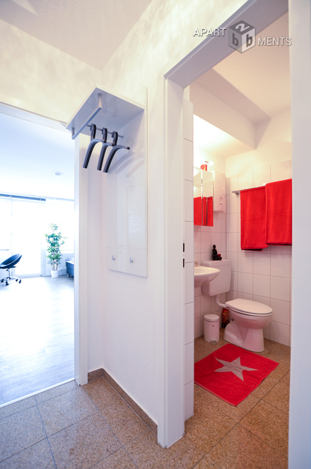 Hochwertig möbliertes Apartment in Köln-Sülz