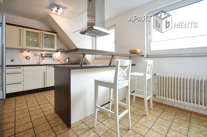Modern möblierte Wohnung mit Balkon in Köln-Niehl