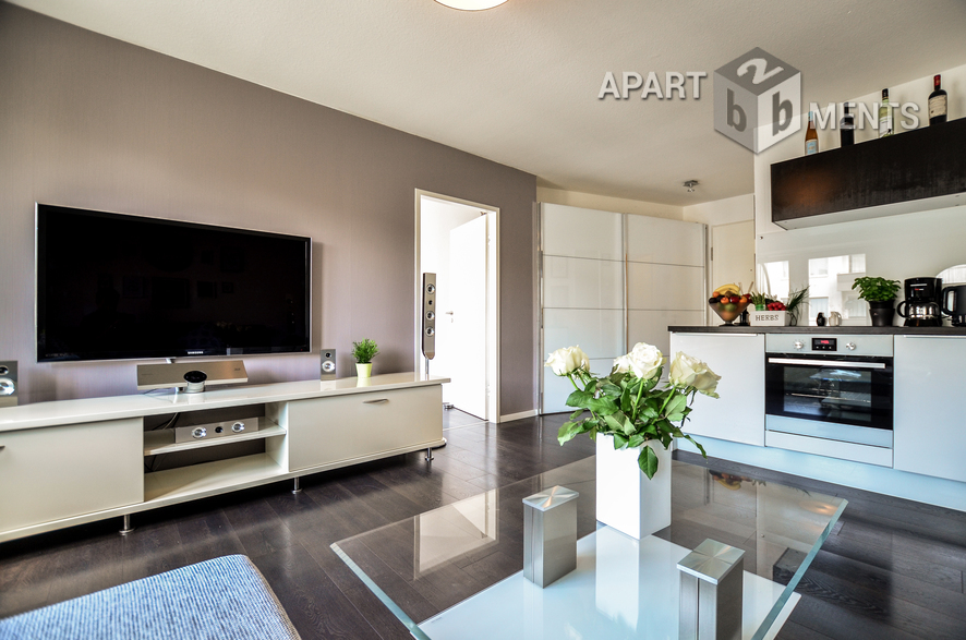 Modern furnished and centrally located apartment in Cologne-Neustadt-Süd