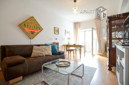 Möbliertes und zentral gelegenes Apartment mit Balkon in Köln-Altstadt-Nord