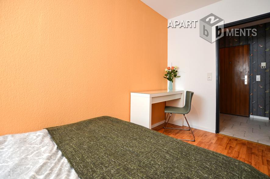 Moderne  2 Zimmer Wohnung erstbezug nach vollständiger Renovierung und Möblierung