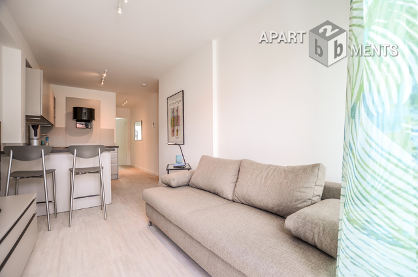 Möbliertes 2-Zimmer-Apartment mit Balkon in Köln-Neustadt-Nord