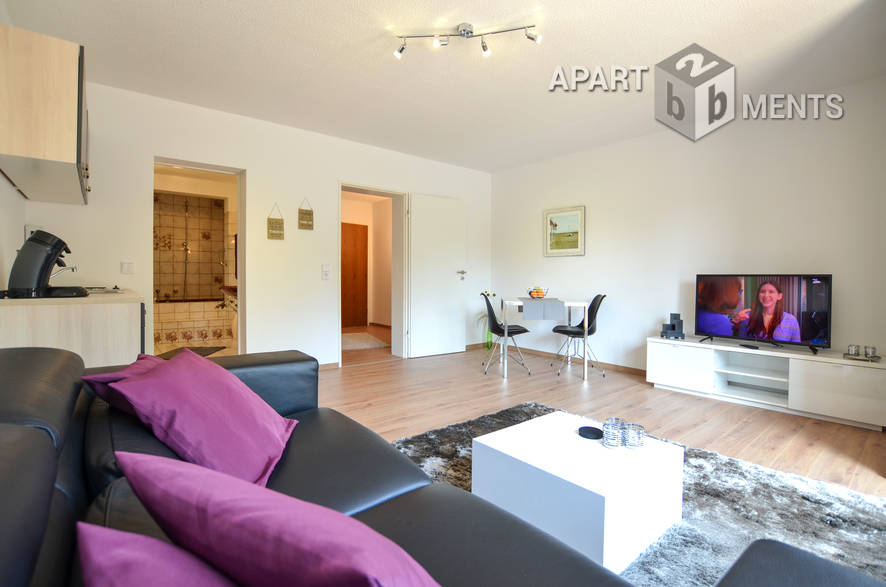 Furnished apartment with balcony in a convenient location in Cologne-Holweide