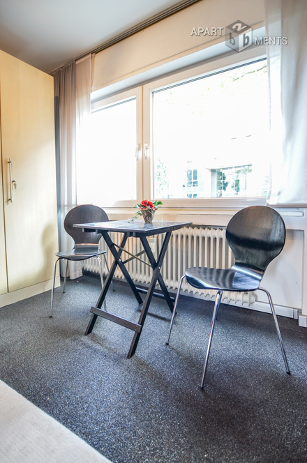 Furnished and quiet apartment in Cologne Altstadt-Nord