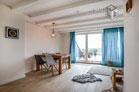 Modernly furnished maisonette apartment with roof terrace in Cologne-Sülz