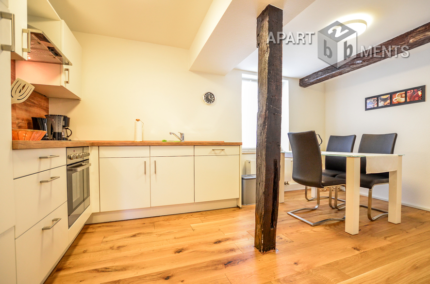 High quality furnished apartment in Leverkusen-Fettehenne