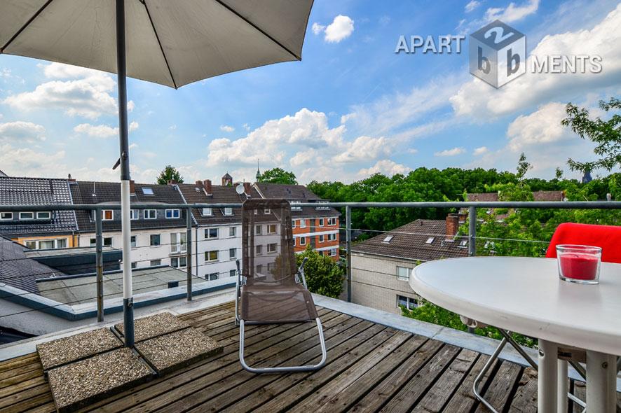 Modern möblierte Altbauwohnung in Köln-Altstadt-Süd