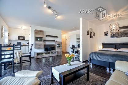 Modern möbliertes Apartment mit Balkon in ruhiger Lage in Sankt Augustin