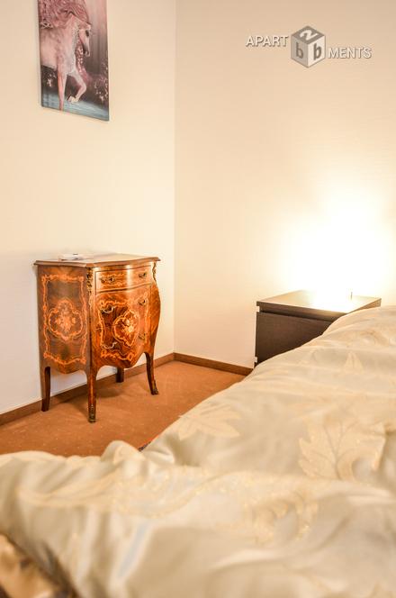 Modern möblierte Wohnung in Köln-Klettenberg