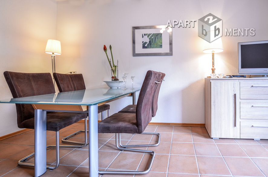 Furnished and spacious apartment in quiet location of Hürth