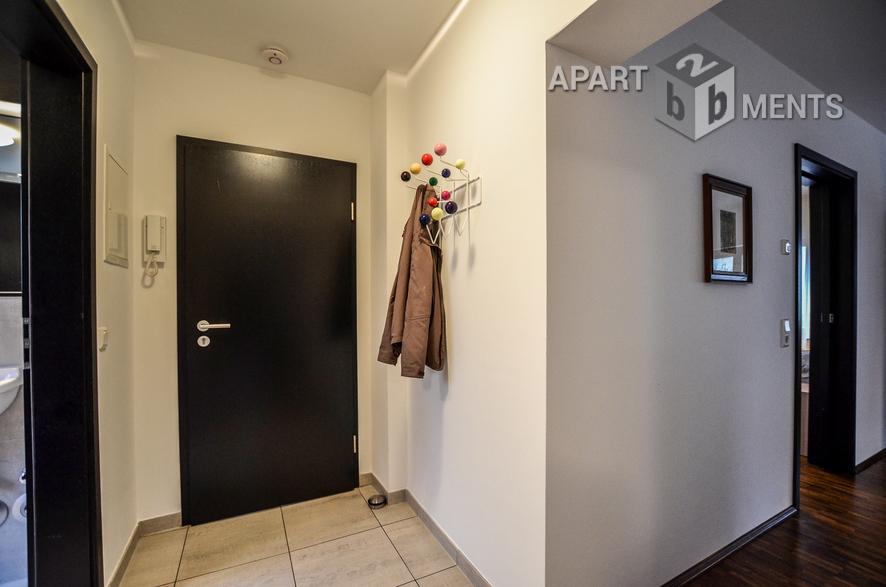 Möblierte und helle Wohnung in Köln-Weidenpesch