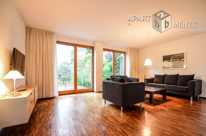 Furnished and bright apartment in Cologne-Weidenpesch