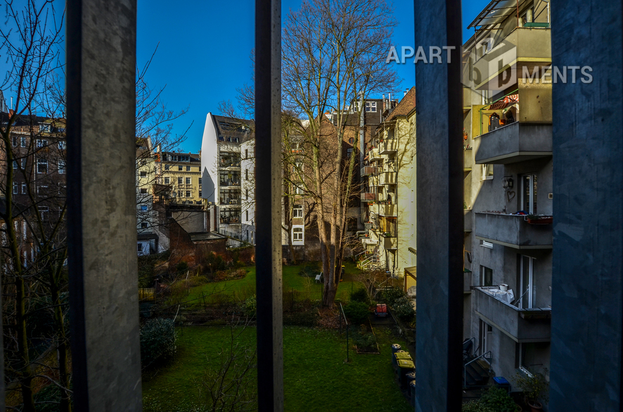 Modern möblierte und ruhig gelegene Altbauwohung in Köln-Neustadt-Süd