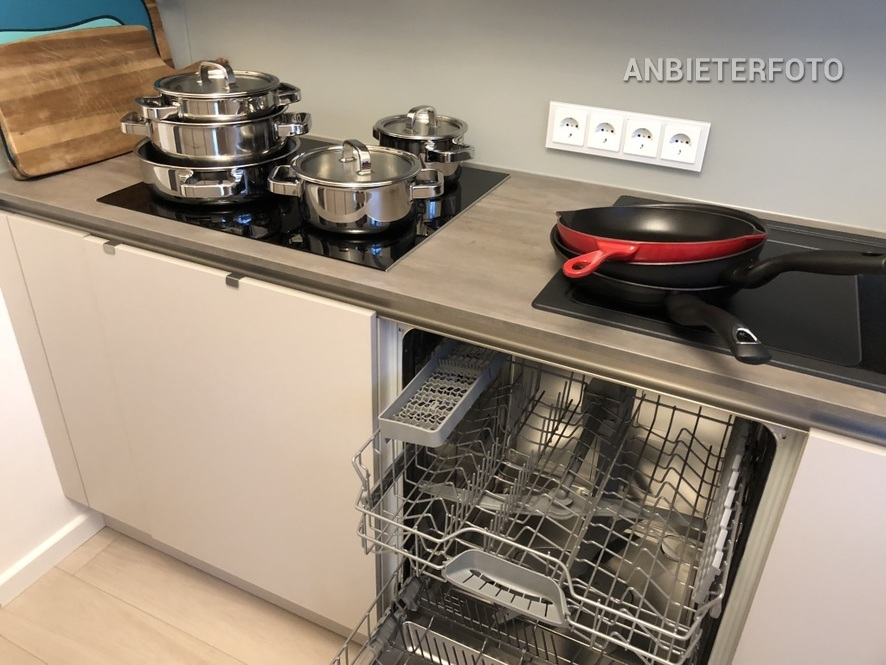 High quality furnished and quiet apartment in Cologne-Junkersdorf