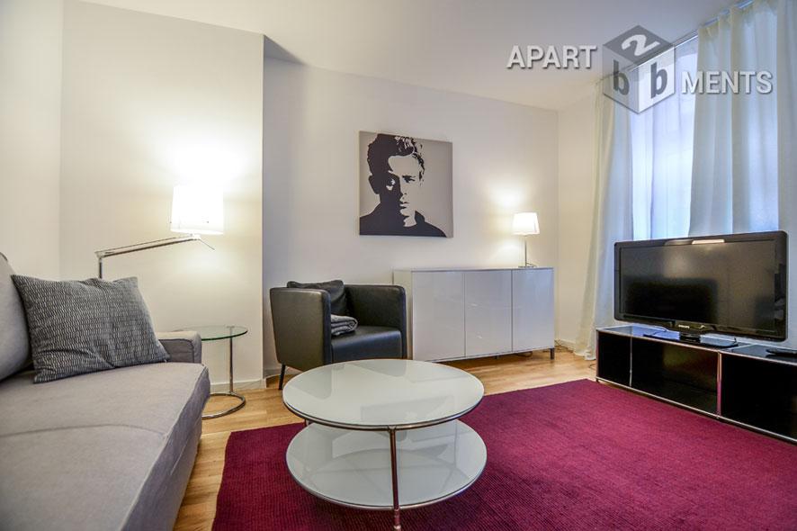 Modern und gehoben möblierte Wohnung in Köln-Neustadt-Süd