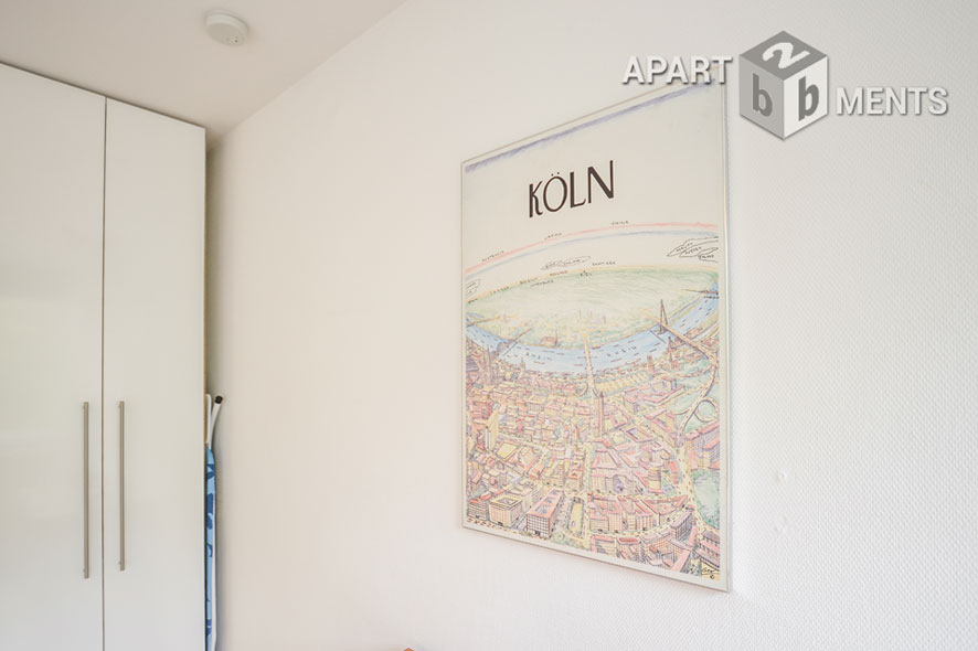 Möblierte und unversitätsnahe Wohnung mit Klimaanlage in Köln-Lindenthal