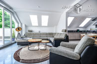 Möblierte und sehr geräumige Dachterrassenwohnung in Hürth-Fischenich