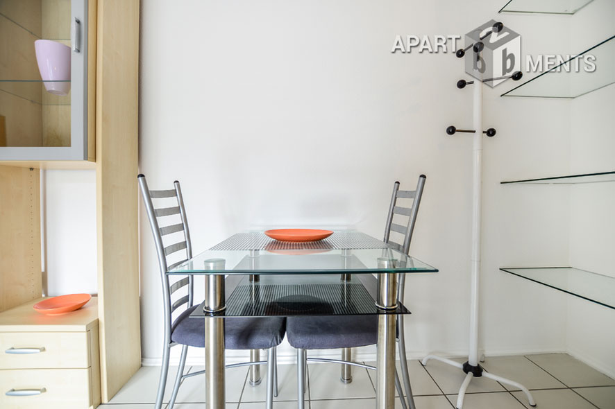 Furnished apartment in a central but quiet location in Cologne-Altstadt-Süd