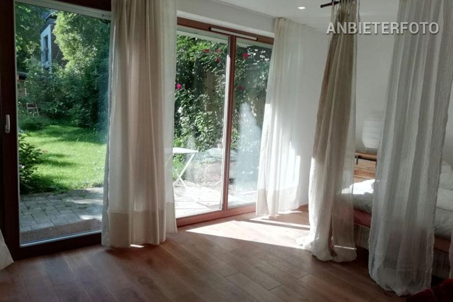 Barrierefreie möblierte Gartenwohnung in ruhiger Lage in Köln-Ehrenfeld