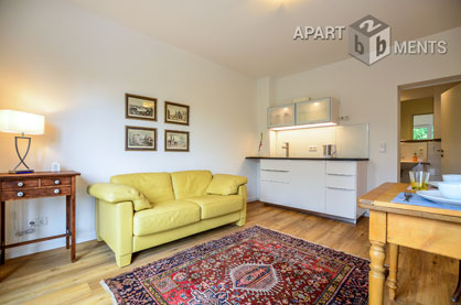 Modernly furnished apartment with balcony in Cologne-Humboldt-Gremberg