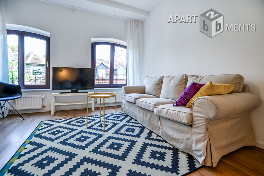 Modern und stilvoll möbliertes Apartment in Köln-Nippes