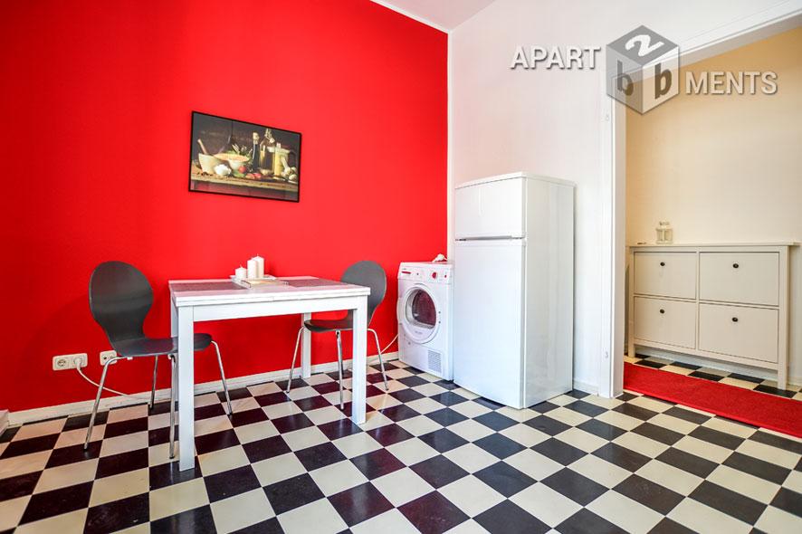 Modern möblierte Wohnung in Köln-Neuehrenfeld