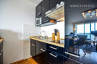 Modern möbliertes Apartment mit Skyline-Blick in Köln-Riehl