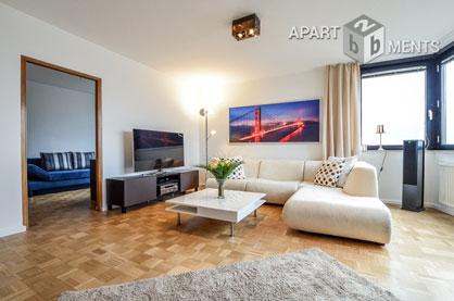 Modern möblierte Wohnung im Rheinsternhaus in Köln-Neustadt-Nord