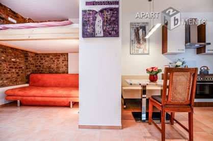 Modern furnished apartment in Cologne-Nippes