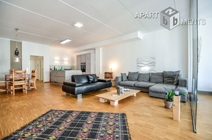 Modernly furnished large-capacity apartment in Hürth