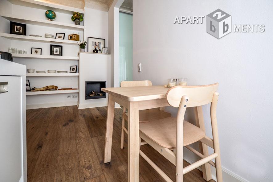 Exklusiv und stilvoll möblierte Altbauwohnung in Köln-Neustadt-Nord