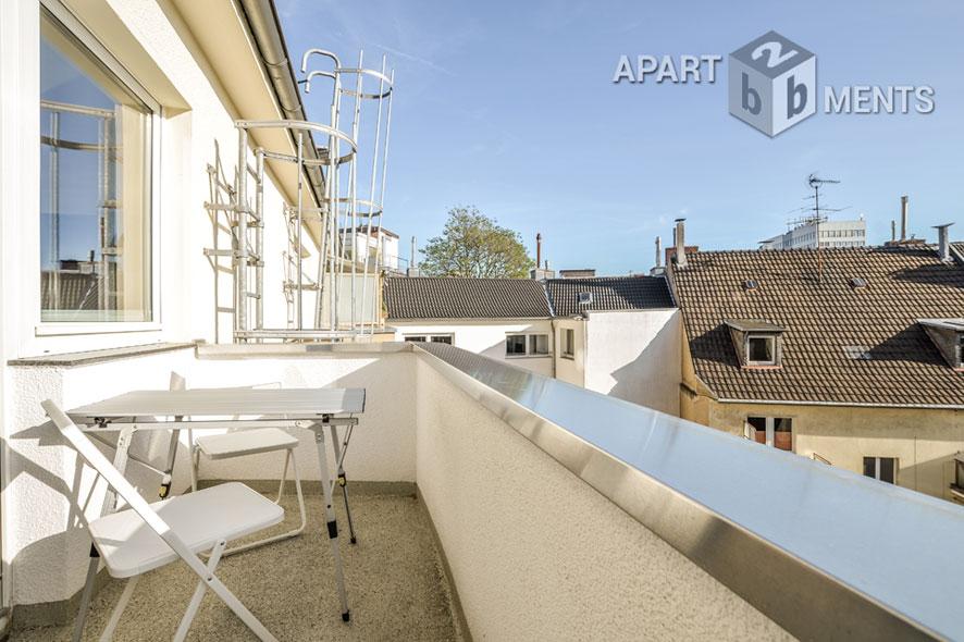 Hochwertig möbliertes und zentral gelegenes Apartment in Köln-Neustadt-Süd