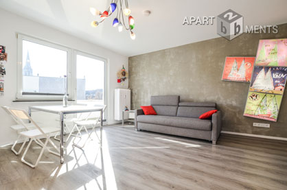 Quality furnished apartment in central residential area in Cologne-Neustadt-Süd