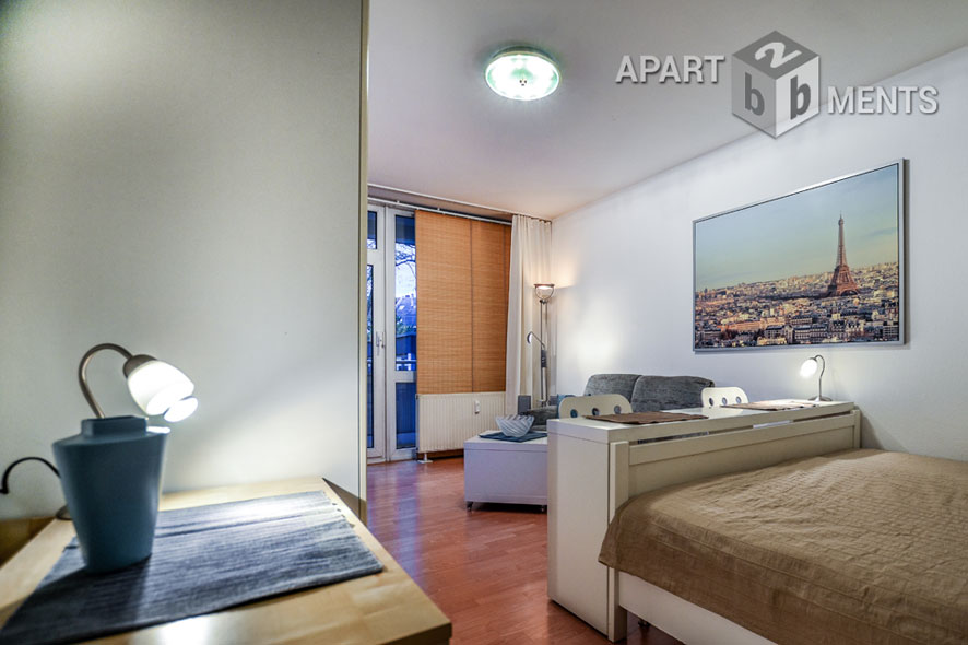 Quiet and modern furnished apartment in Cologne-Humboldt-Gremberg