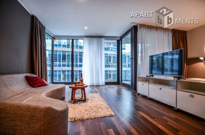Hochwertig möbliertes Apartment in Köln-Altstadt in der K-Star Residence