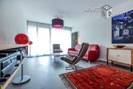 Möblierte Wohnung mit Terrasse in Köln-Neustadt-Nord nah Stadtgarten
