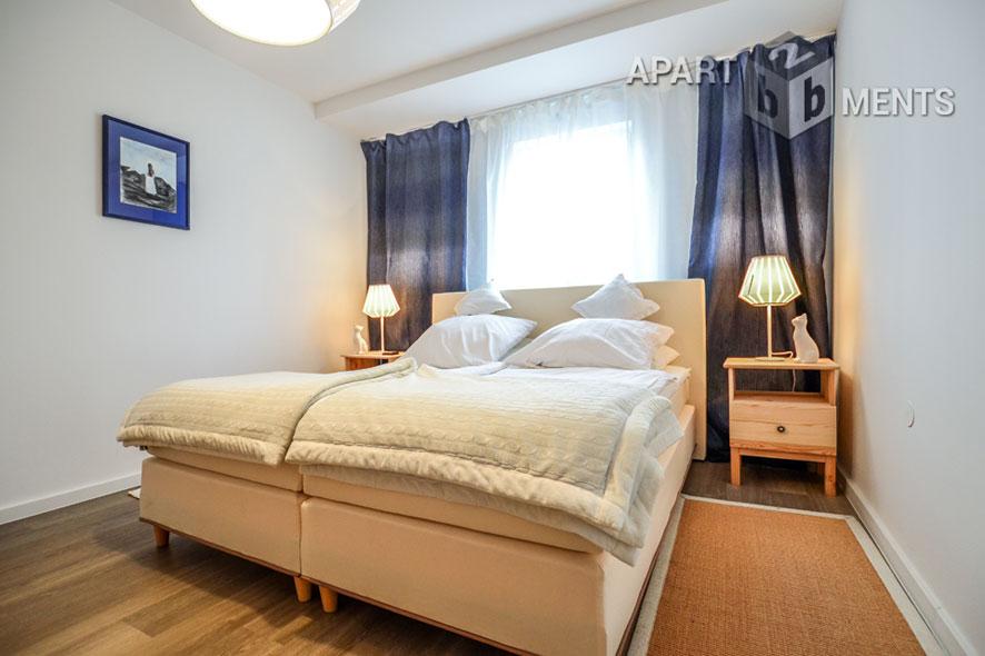 Stilvoll möblierte Maisonettewohnung in Köln-Dellbrück