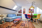 Stylishly furnished maisonette apartment in Cologne-Dellbrück