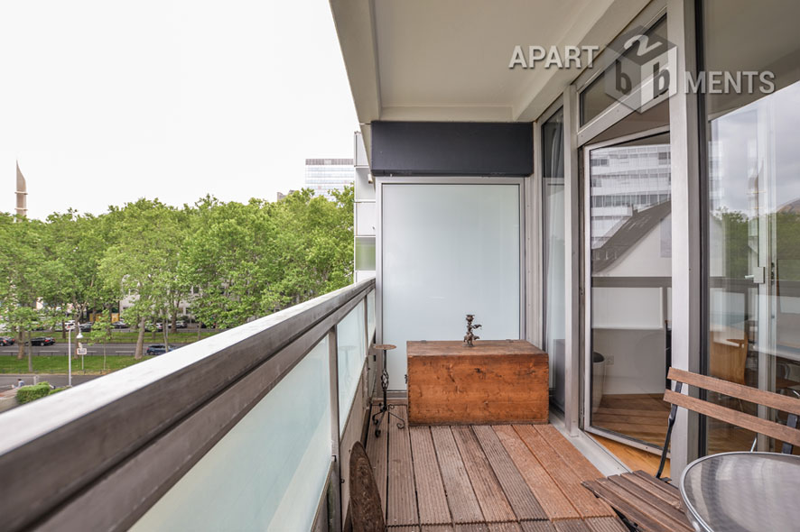 Furnished apartment with balcony near Stadtgarten in Cologne-Neustadt-North