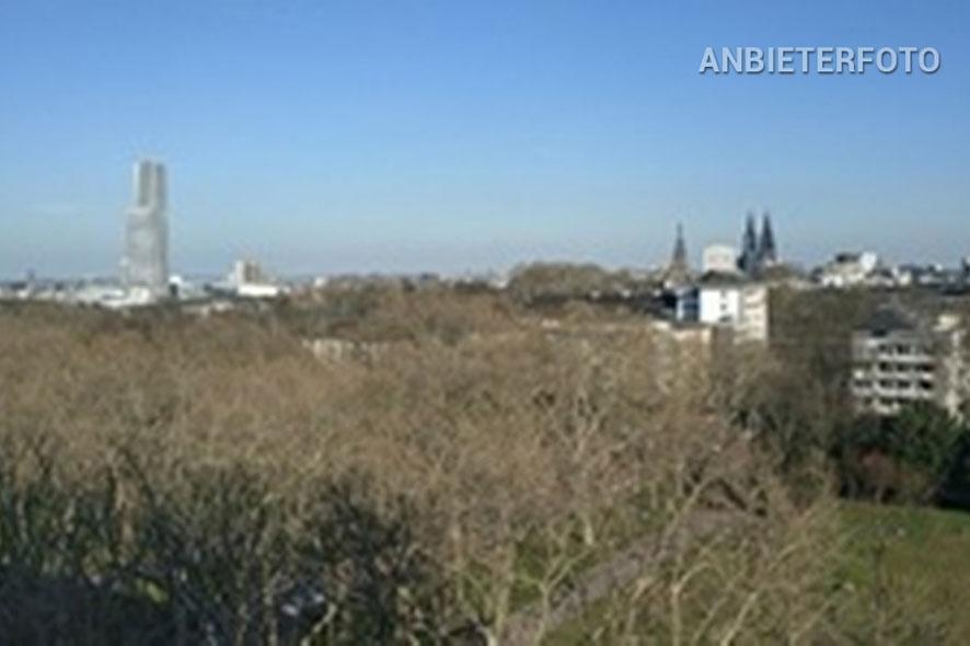 Möbliertes Apartment mit Balkon und Panoramablick in Köln-Neustadt-Nord