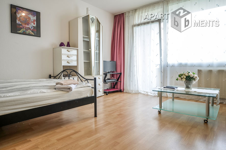 Quiet and modern furnished apartment in Köln-Ostheim