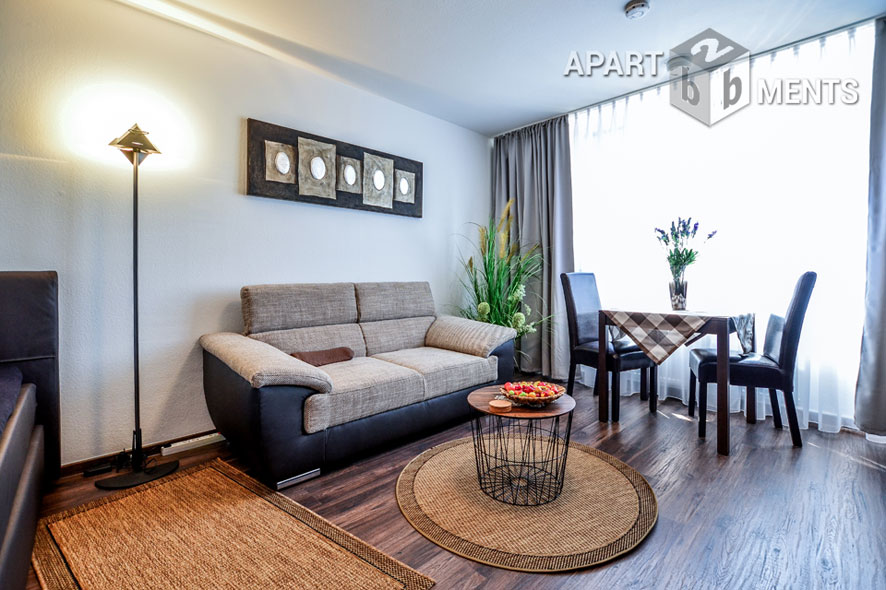 Möbliertes Apartment im Herkuleshochhaus in Köln-Neuehrenfeld