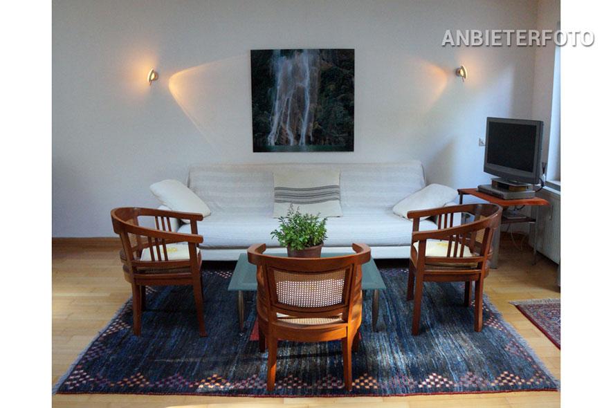 Hochwertig möblierte Wohnung mit Garten in Toplage in Köln-Lindenthal