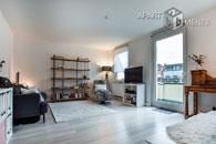 Modern möblierte Wohnung mit zwei Balkonen in Köln-Neustadt-Süd