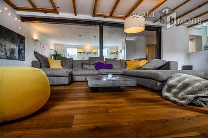 Exklusiv möblierte Maisonette-Wohnung in Köln Altstadt-Süd