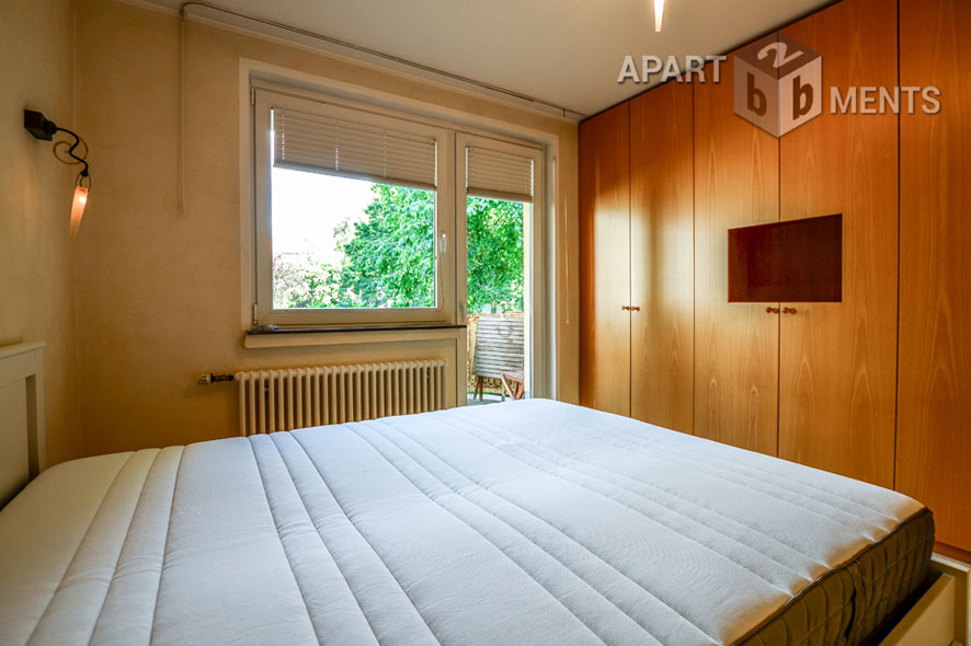 Furnished apartment in central residential area in Cologne-Nippes