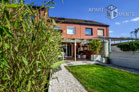 Modern furnished terraced house with garden in Cologne-Pesch nearby Lake Escher See